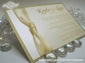 Wedding invitation - Lovely ina Cream 2