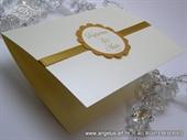 Pozivnica za vjenčanje Gold Sunshine