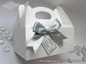 Kutija za kolače sa mašnom i tiskom