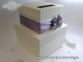 Kutija za kuverte - Lilac Bow Cake
