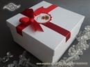 Kutija bijela 16x16x8cm