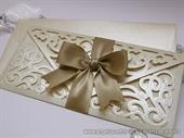 Pozivnica za vjenčanje - Luxury Cream Letter