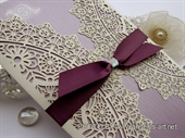 Wedding invitation - Luxury Lilac Divas