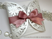 Wedding invitation - Luxury Pink Diva