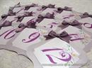 Broj stola za svadbenu svečanost - Lilac Frame