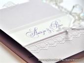 Pozivnica za vjenčanje Glorius Lilac Lace