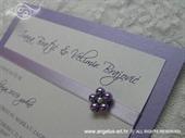 Pozivnica Purple Pearl Fairy Tale