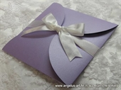 Wedding invitation - Purple Beauty