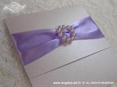Pozivnica za vjenčanje Lilac Elegance