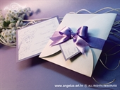 Wedding invitation - Lilac Beauty