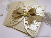 Wedding invitation - Luxury Gold Diva