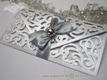 Luxury Silver Letter