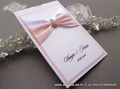 Wedding invitation - Luxury Rose Charm
