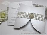 moderne pozivnice za vjencanje bijele sa perlama