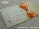 narančasta pozivnica detalj leptira
