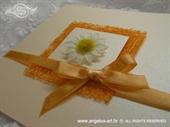 Pozivnica za vjenčanje Romantic Orange