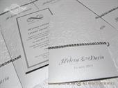 Pozivnica za vjenčanje - Crystal Shine Charm