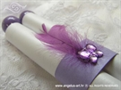 Invitations feather