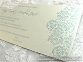 Pozivnica za vjenčanje Blue Line