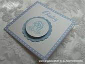 Ekskluzivna čestitka - Baby Blue Bear
