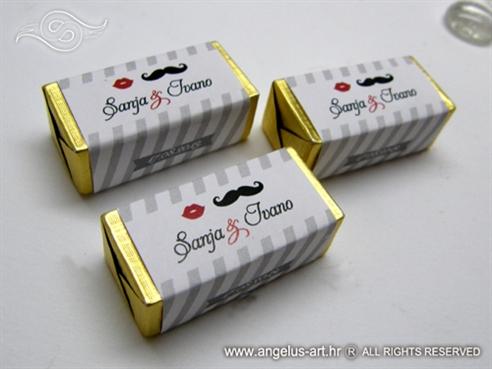poklon za goste vjencanja personalizirana cokoladica