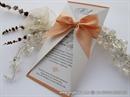 Pozivnica za vjenčanje - Lovely Peach Letter