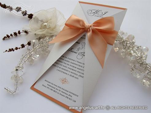 Lovely Peach Letter