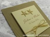 Pozivnica za vjenčanje Trendy Beach