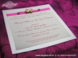 pozivnica ružičasta s ružicama