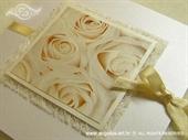 Pozivnica za vjenčanje Romantic Rose