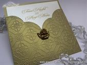 Pozivnica za vjenčanje - Golden Angel Charm