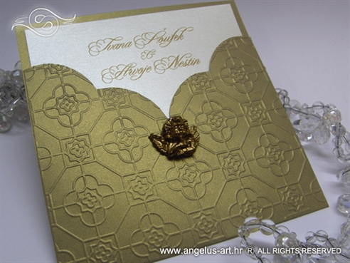 Golden Angel Charm