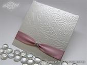 Pozivnica za vjenčanje rozo bijela