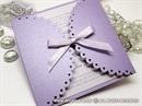 Pozivnica za vjenčanje - Lilac Lace Diva