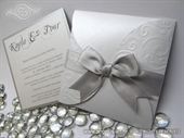 Pozivnica za vjenčanje - Silver Mini Beauty