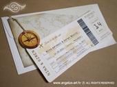 Pozivnica za vjenčanje Pozivnica za let