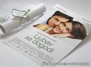 pozivnica za vjencanje kao plakat film love happens