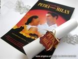 pozivnica za vjencanje kao plakat za film zameo ih vjetar