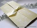 Pozivnica za vjenčanje Cream Window Line