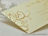 Pozivnica za vjenčanje Golden Line 2