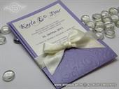 Pozivnica za vjenčanje Destiny Exclusive Lilac