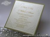 Pozivnica za vjenčanje - Romantic Gold Line