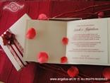 pozivnica za vjenčanje s ružinim laticama