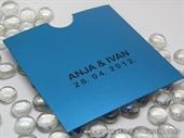 Pozivnica za vjenčanje Turquoise Charm