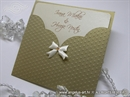 Pozivnica za vjenčanje - Golden Dots Charm