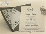 pozivnica za vjencanje sa maslinomim grancicama listovima