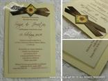 pozivnica za vjenčanje sa suncokretom detalji
