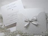 Pozivnica za vjenčanje - True White Charm
