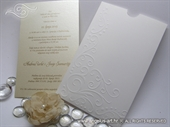 Wedding invitation - Charm Cream