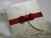 Pozivnica za vjenčanje - Red Butterfy Diva